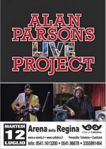 Alan Parsons Live Project a Cattolica