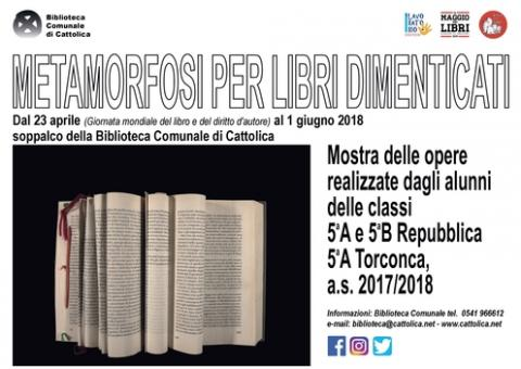 Metamorfosi per libri dimenticati